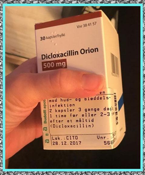 para que sirve Dicloxacilina 500 mg